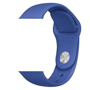 NEW BLUE Sport Silicone Band Apple Watch